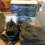 - BIRDS CHOICE GRANITE BUBBLER ROCK WATERFAL