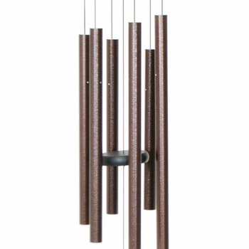 "- MAJESTY BELLS GENTLE SPIRITS CHIMES 27"" COPPER VEIN"
