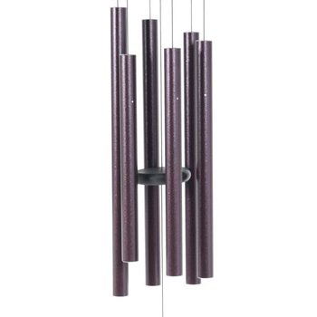 "- MAJESTY BELLS GENTLE SPIRITS CHIMES 30"" PLUM"