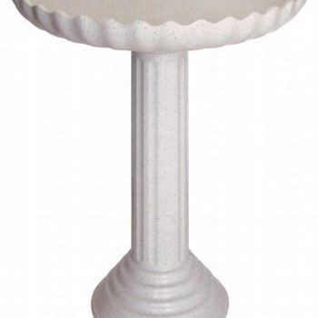 - FARM INN SCALLOPED HEATED BATH W/PEDESTAL