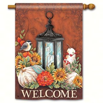 - MAGNET WORKS FALL LANTERN ESTATE FLAG