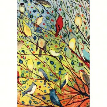 - TOLAND TREE BIRDS GARDEN FLAG