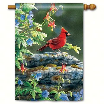 - MAGNET WORKS CARDINAL PERCH ESTATE FLAG