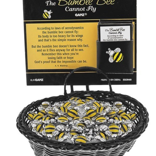 - GANZ BUMBLE BEE POCKET CHARMS