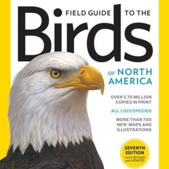- NATIONAL GEOGRAPHIC FIELD GUIDE TO BIRDS OF NORTH AMERICA 7TH ED.