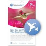 - WINDOW ALERT HUMMINGBIRD WINDOW DECAL 4 PK