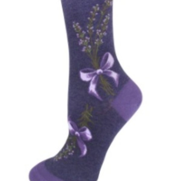 - MODSOCK LAVENDER HARVEST CREW SOCKS PURPLE