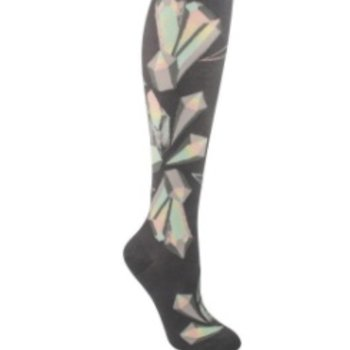 - MODSOCK CRYSTALS KNEE SOCKS IRON