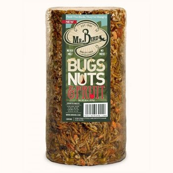 - MR BIRD BUGS, NUTS & FRUIT 28 OZ.