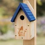 - WOODLINK GARDEN BLUEBIRD HOUSE