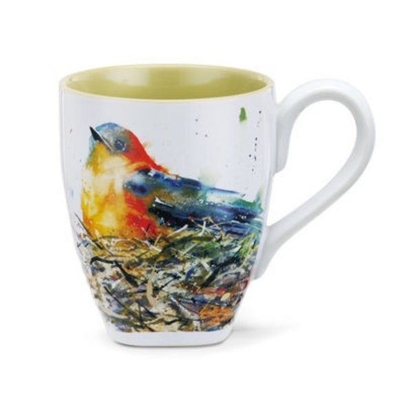 - DEMDACO BIRD IN NEST COFFEE MUG 16OZ