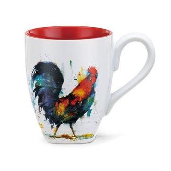 - DEMDACO ROOSTER COFFEE MUG 16OZ