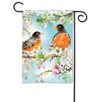 - MAGNET WORKS SPRING HAS ARRIVED GARDEN FLAG