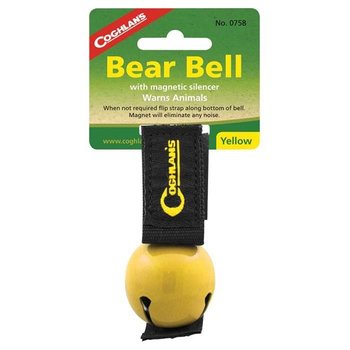 - COGHLANS BEAR BELL WITH MAGNETIC SILENCER YELLOW
