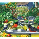 - COBBLE HILL BIRD BATH PUZZLE 500PC