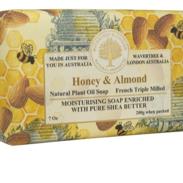 -AUSTRALIAN NATURAL SOAP HONEY & ALMOND 7 OZ