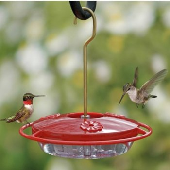 - ASPECTS HUMMZINGER MINI 8OZ HUMMINGBIRD FEEDER
