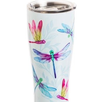 - EVERGREEN DRAGONFLY STAINLESS BEVERAGE CUP 17 OZ