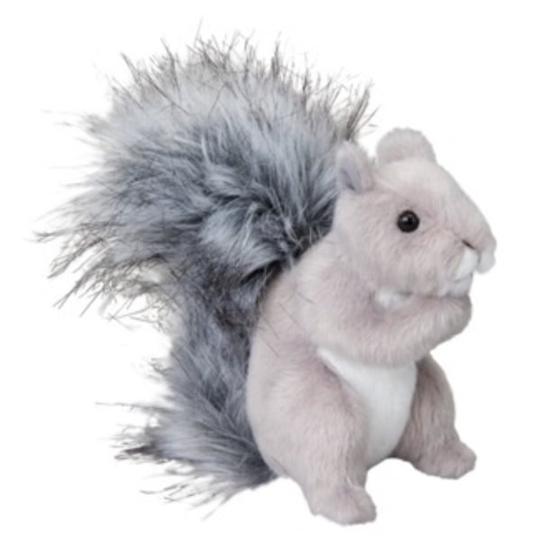 - DOUGLAS CUDDLE TOYS SHASTA GRAY SQUIRREL