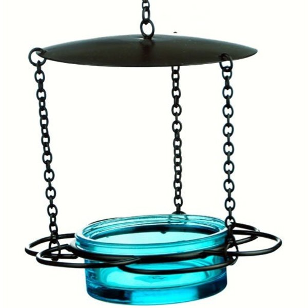 - COURONNE CO HANGING FLORAL FEEDER AQUA