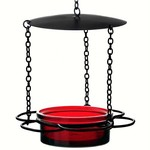 - COURONNE CO HANGING FLORAL FEEDER RED