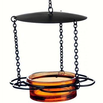 - COURONNE CO HANGING FLORAL FEEDER ORANGE