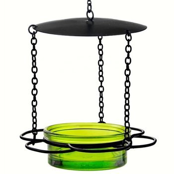 - COURONNE CO HANGING FLORAL FEEDER LIME