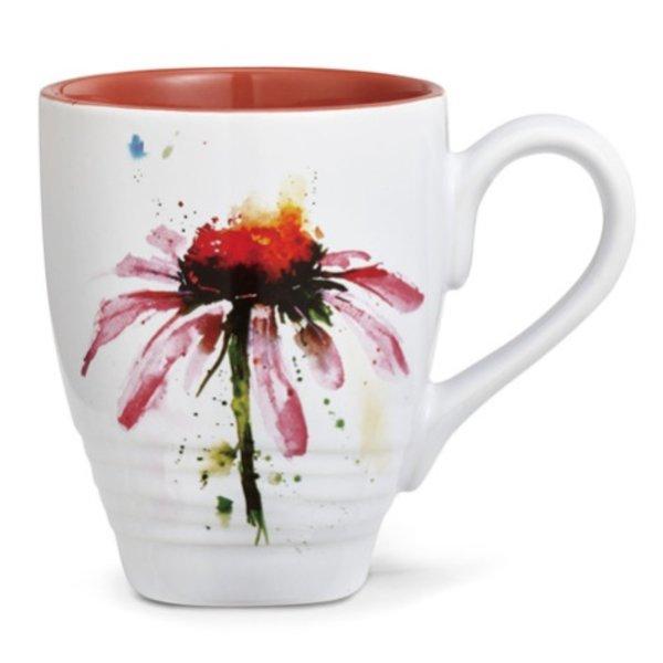 - DEMDACO ECHINACEA COFFEE MUG 16OZ