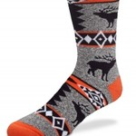- FOR BARE FEET SOCKS ELK BLANKET LARGE
