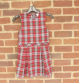 Girls Plaid Jumper 0718 New Fabric