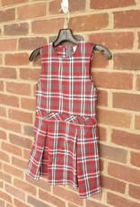 Girls Plaid Jumper 0718 New Fabric