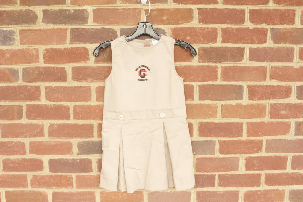 Girls Khaki Jumper 0718