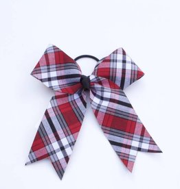 Plaid Structured Bow Pony