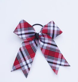 Plaid Structured Bow Pony TCB