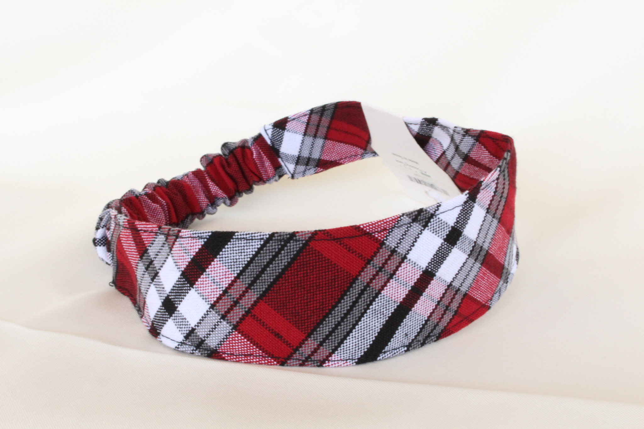 Plaid  Wide Headband TCB