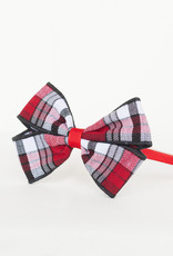 Plaid Bow Wrapped Headband TCB