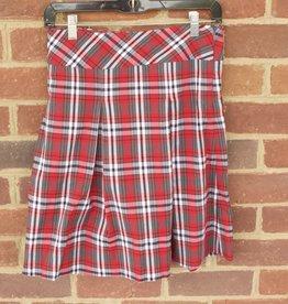 Girls  Plaid  Skirt 1118 New Fabric