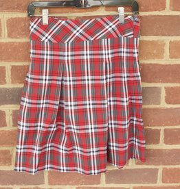 Junior Plaid Skirt  1118 New Fabric