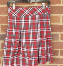 Girls Plaid Skirt 0519