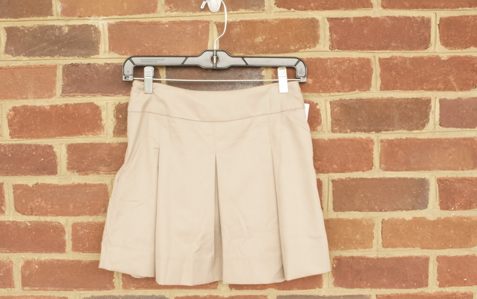 Girls Khaki Skirt 0519