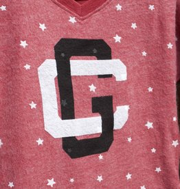 Z   Girls Star Fleece V-Neck