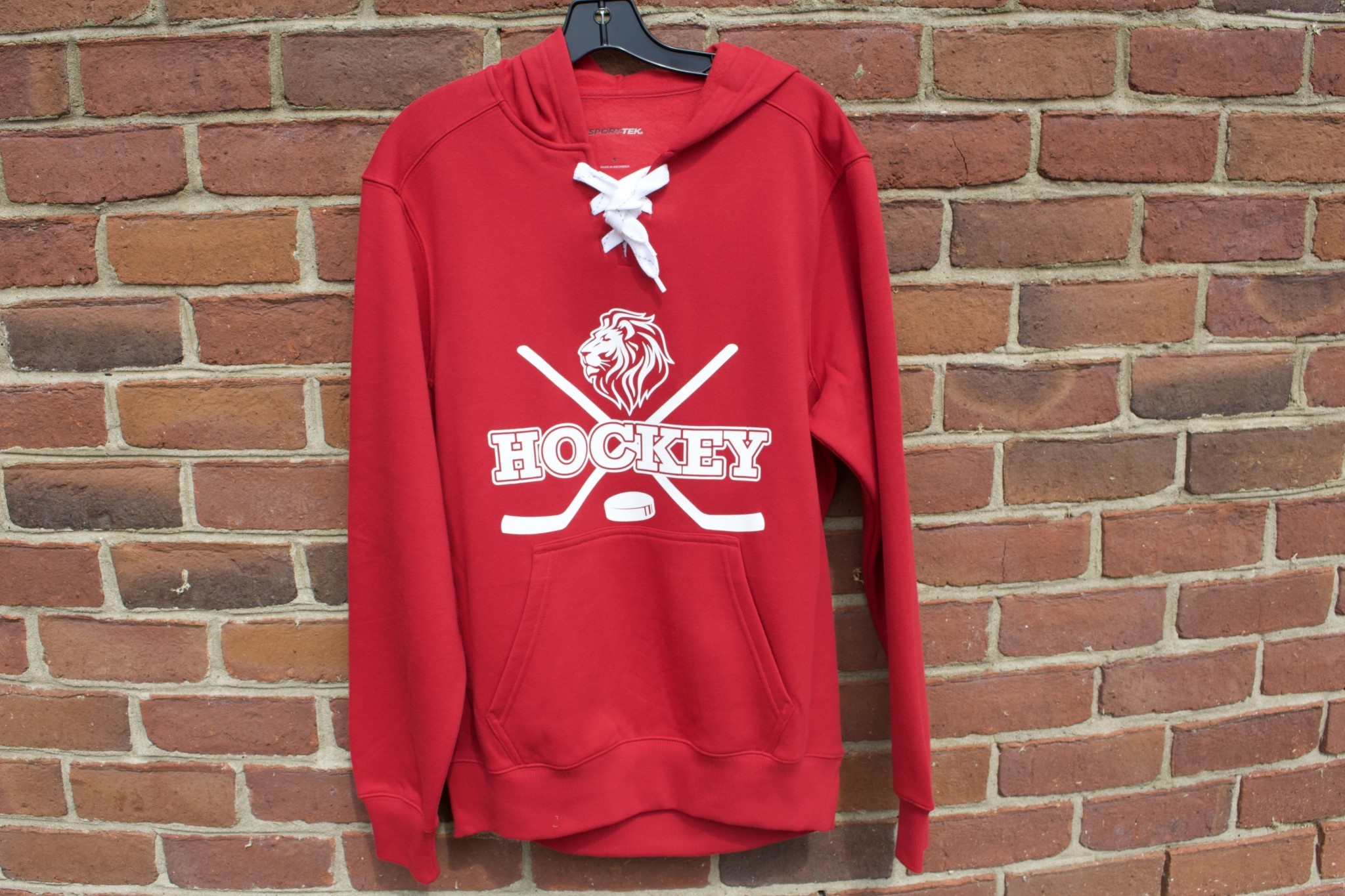 Z  Hockey Lace Up Hoodie