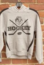 Youth Hockey Stripe Sleeve Hoodie