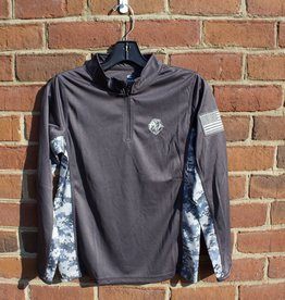 Colosseum Z  OHT Youth Camo 1/4 Zip