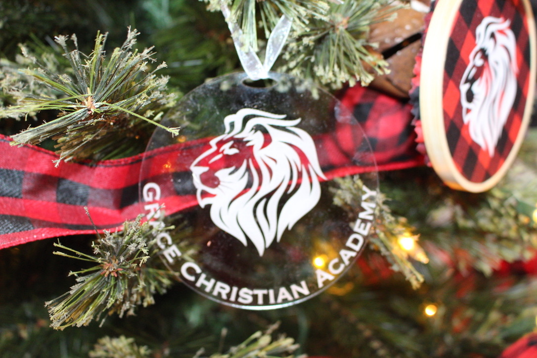 Acrylic GCA Ornament