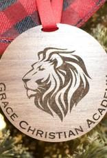 Z  Wooden GCA Ornament