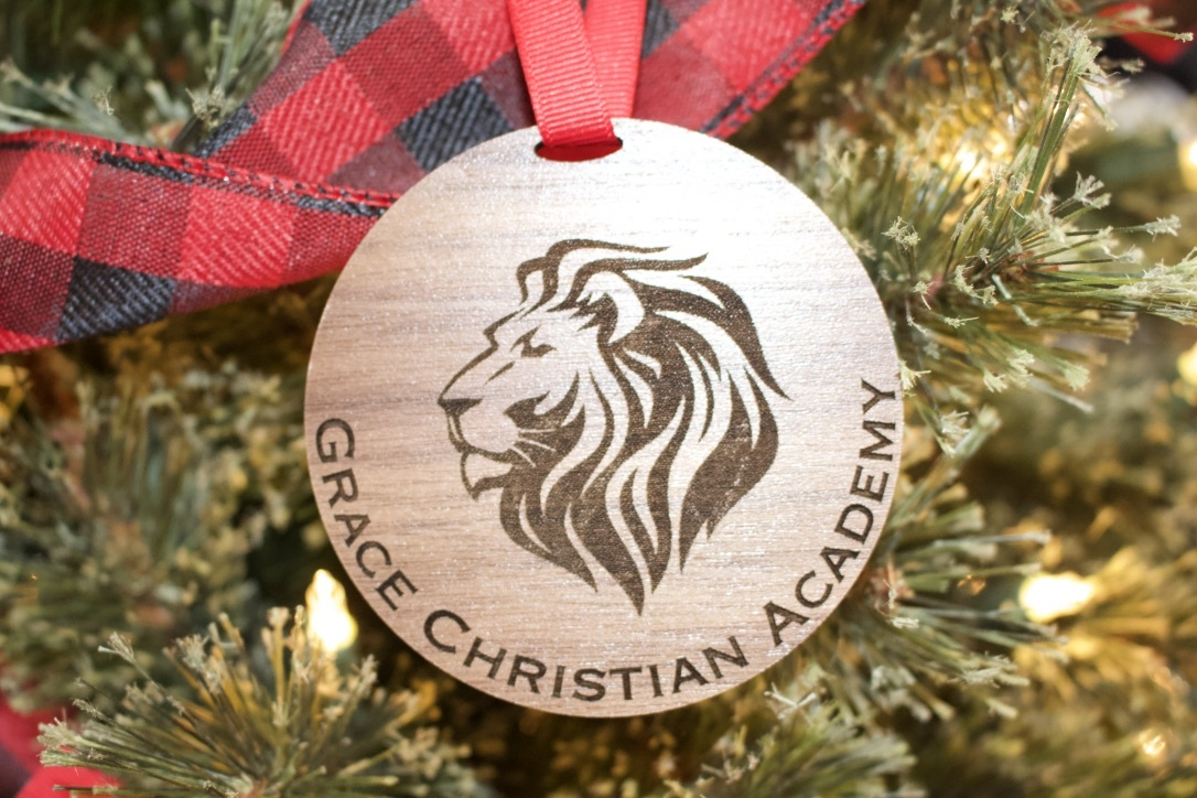 Wooden GCA Ornament