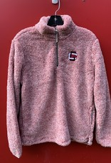 Summit Z Ladies Flecked Double Plush 1/4 zip