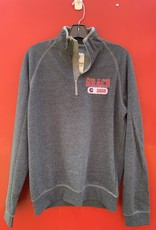 Campus Crew Z CC Mens Heritage 1/4 Zip Mock Neck
