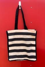 MCM Striped Tote Bag
